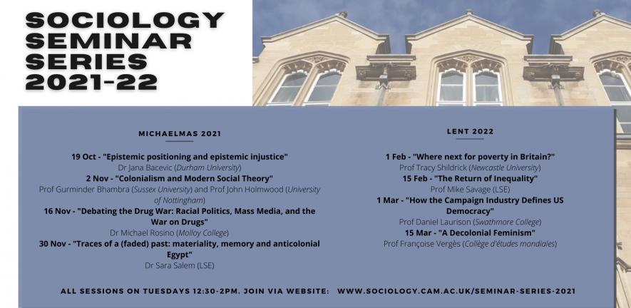 Seminar series 2021-22