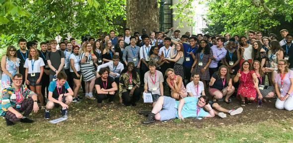 Students on the 2019 Sutton Trust Summer School