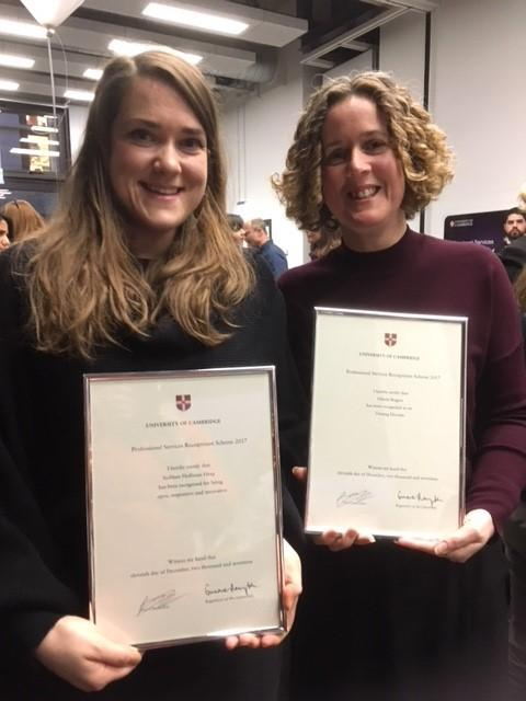 Awards for Department of Sociology Administrative Staff!