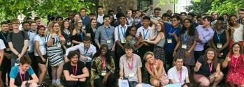 Students on the 2019 Sutton Trust Summer School